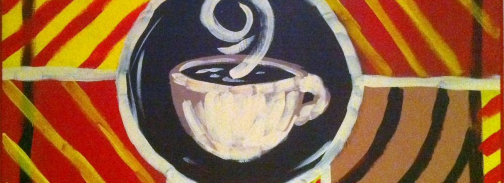 Coffee Bistro Painting